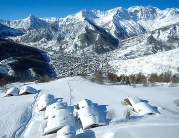Bardonecchia-Mountain view, ski